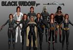 Black Widow Marvel Heroes XNALara