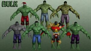 Hulk Marvel Heroes XNALara 1 by Xelandis