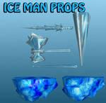 Iceman Props Marvel Heroes XNALara