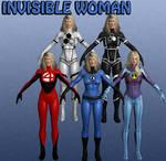 Invisible Woman Marvel Heroes XNALara