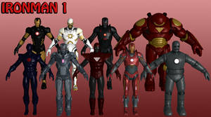 Ironman Marvel Heroes XNALara 1 by Xelandis