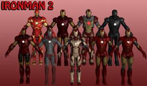 Ironman Marvel Heroes XNALara 2 by Xelandis
