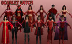 Scarlet Witch Marvel Heroes XNALara