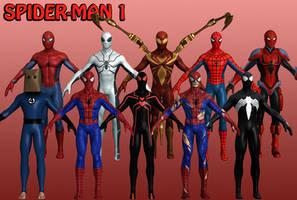 Spider-Man Marvel Heroes XNALara 1 by Xelandis