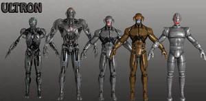 Ultron Marvel Heroes XNALara by Xelandis