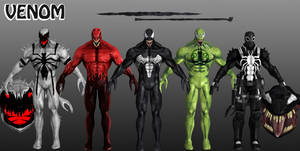 Venom Marvel Heroes XNALara