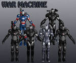 War Machine Marvel Heroes XNALara