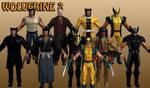 Wolverine Marvel Heroes XNALara 2
