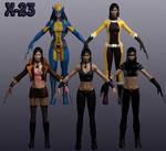 X-23 Marvel Heroes XNALara