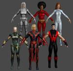 NPC VU Pack Marvel Heroes XNALara