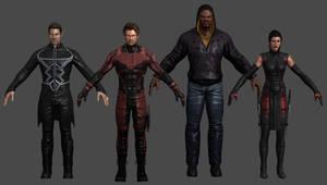 Television Pack Marvel Heroes XNALara by Xelandis