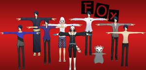 Persona 5: Fox Pack XNALara (Update 1)