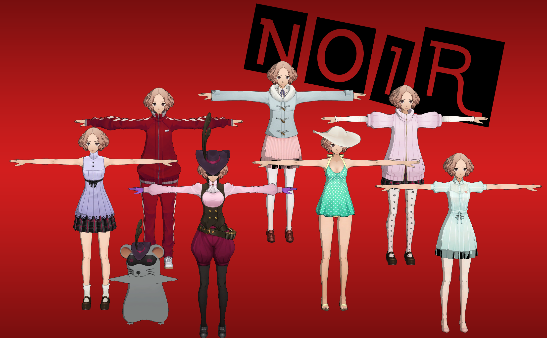 Persona 5: Noir Pack XNALara (Update 1) by Xelandis on ... - photo#42