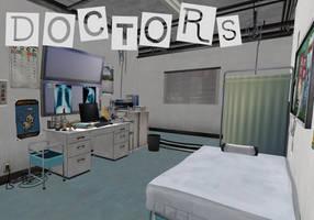 Persona 5: Doctors Room XNALara by Xelandis