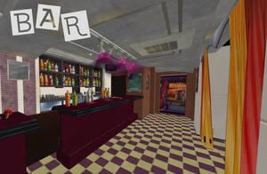 Persona 5: Bar XNALara by Xelandis