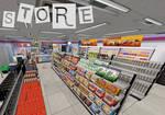 Persona 5: Convenience Store XNALara