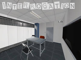 Persona 5: Interrogation Room XNALara by Xelandis