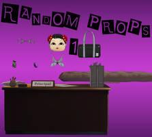 Persona 5: Random Prop Pack 1 XNALara by Xelandis
