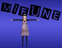 Persona 5: Mifune Pack XNALara by Xelandis