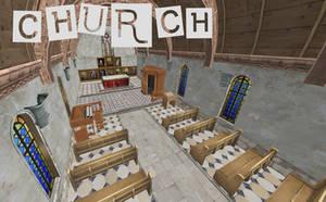 Persona 5: Church XNALara by Xelandis