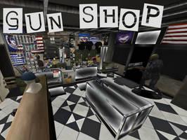 Persona 5: Gun Shop XNALara by Xelandis