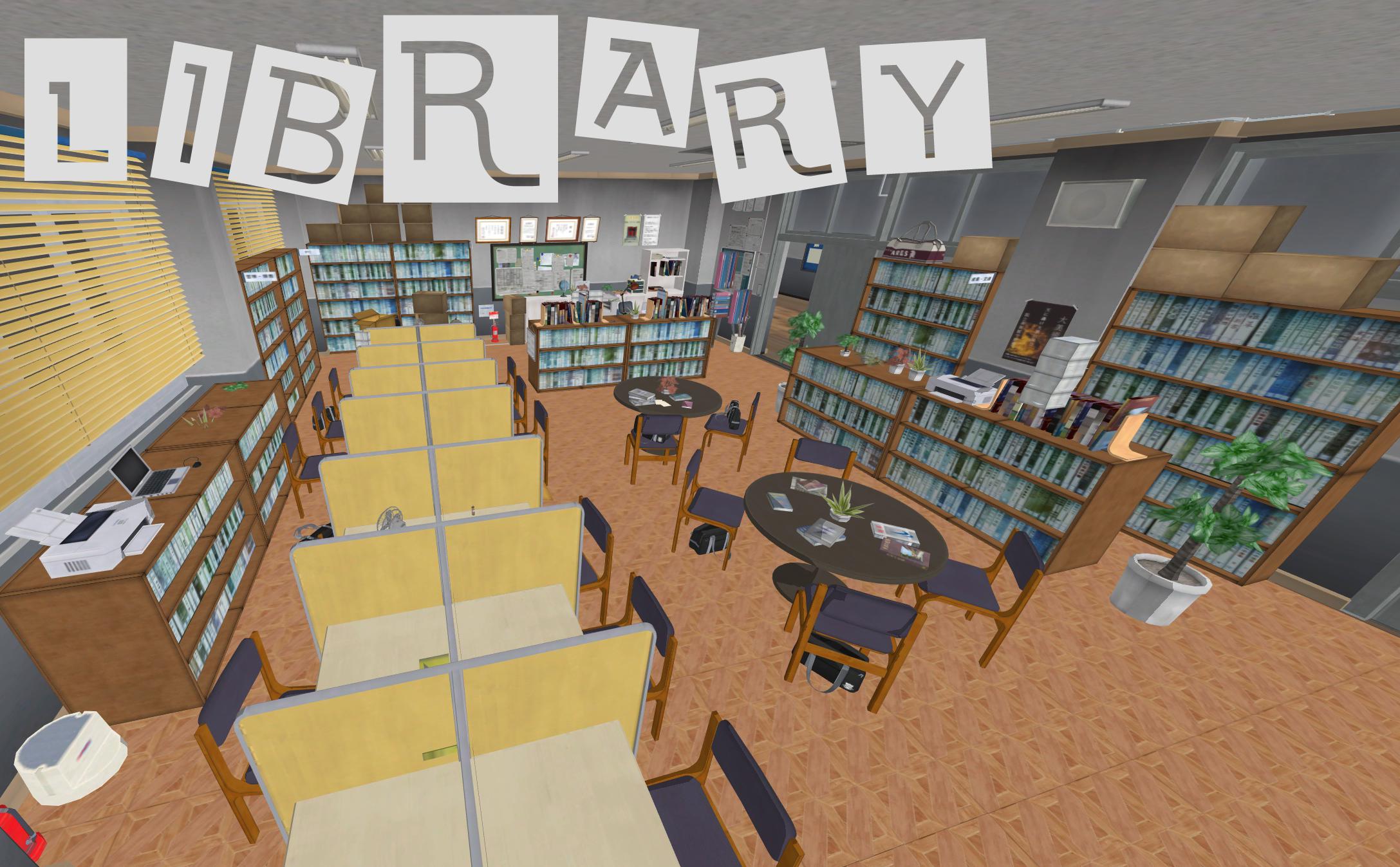 Persona 5: Library XNAlara by Xelandis