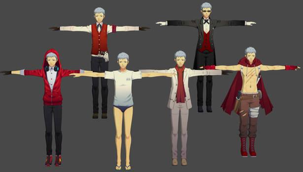 Persona 3 DMN: Akihiko Pack XPS (Fix)