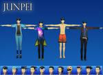 Persona 3 DMN: Junpei Pack XPS (Upd 1)