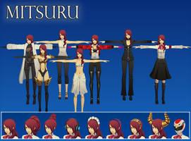 Persona 3 DMN: Mitsuru XPS (Upd 3) by Xelandis