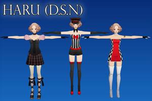 Persona 5 DSN: Haru XPS by Xelandis