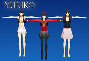 Persona 4 DAN: Yukiko XPS (Upd 1) by Xelandis