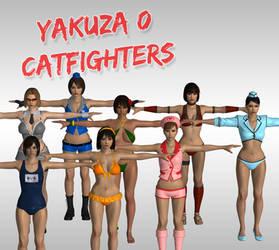 Yakuza 0: Catfighters XPS (Upd 3) by Xelandis