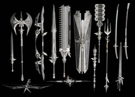 Final Fantasy XV: Royal Arms Pack by Xelandis