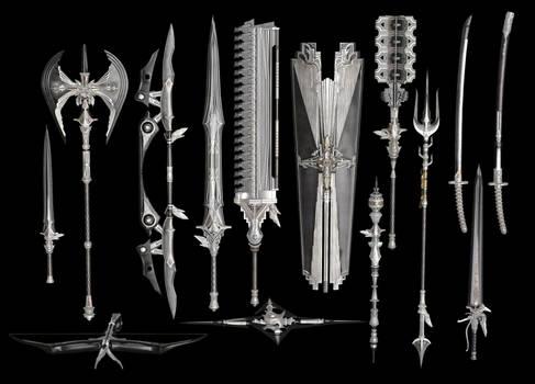 Final Fantasy XV: Royal Arms XPS