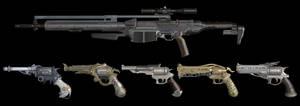 Final Fantasy XV: Firearms XPS