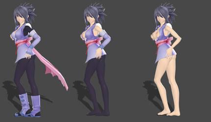 ToS - Sheena Fujibayashi Nudable XPS by Xelandis