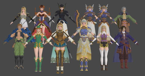 Soa - Valkyrie Profile Pack