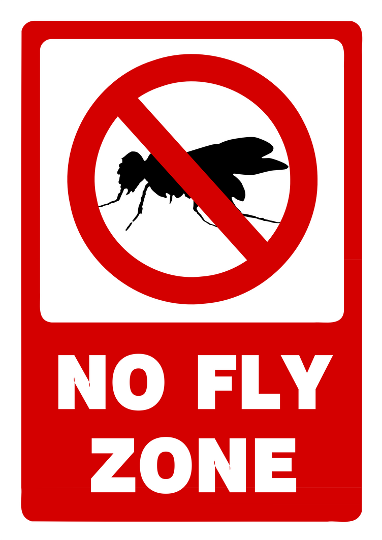 No Fly Zone Signage By Icqgirl On Deviantart