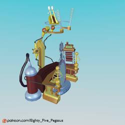 MLP:FiM EqG RR Magic Mirror Model