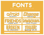 +FONTS PACK RECOMMENDATION #004