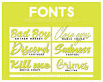 +FONTS PACK RECOMMENDATION #007