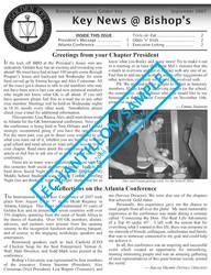 Golden Key Newsletter Sample