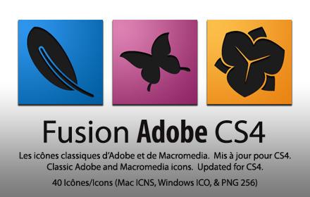 Fusion Adobe CS4 - Mac and PC
