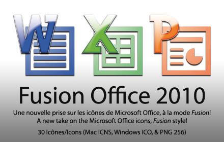 Fusion Office 2010 Mac + PC by mulletrobz