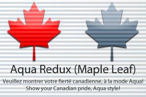 Aqua Redux - Maple Leaf