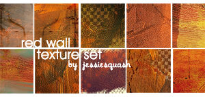 Red Wall Textures