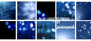 Blue Light Textures by jessiesquash