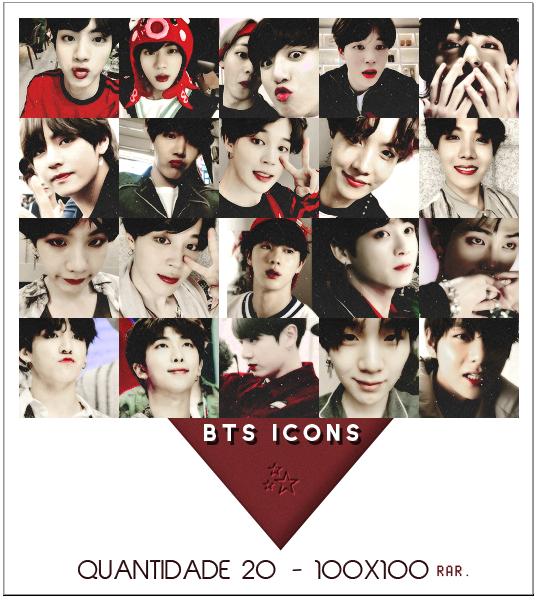 BTS icons by RohARamos