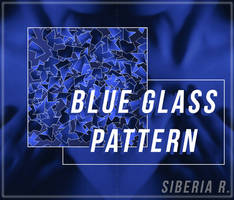 Blue Glass Pattern by SiberiaR. - ORIGINAL. (.PAT) by SiberiaR