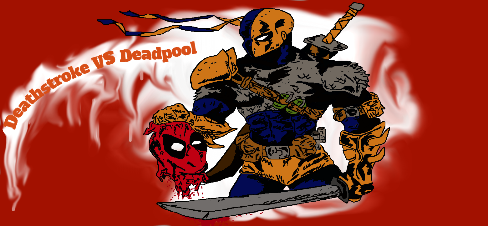 Deathstroke VS Deadpool By Hanz Zimmer On DeviantArt